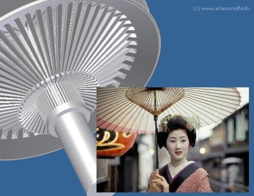 Клиноременный вариатор Японский зонтик Artamonoff Technologies