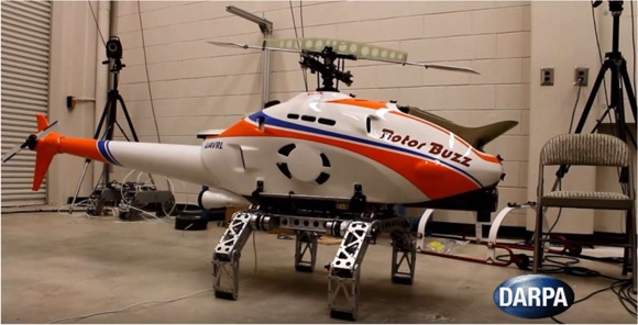 Адаптивное шасси DARPA